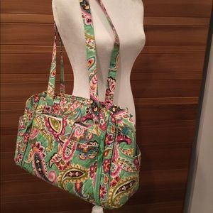 Vera Bradley Stroll Around Diaper Bag with changer